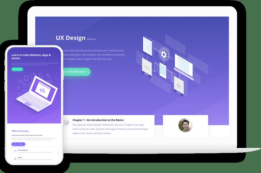 Modern UX Web Design